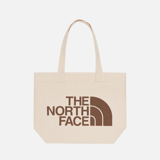 Сумка The North Face Cotton Tote Weimaraner Brown Large Logo Print