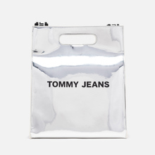 Сумка Tommy Jeans Item Tote Silver фото- 0