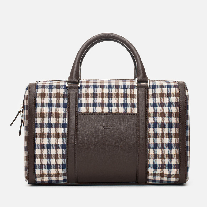 Женская сумка Aquascutum Bowling Club Check Brown