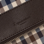 Женская сумка Aquascutum Fold Club Check Brown фото- 2