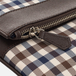 Женская сумка Aquascutum Fold Club Check Brown фото- 3