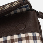 Женская сумка Aquascutum Fold Club Check Brown фото- 4