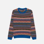 Детский свитер Barbour Coll Crew Neck Colbalt Blue фото- 0