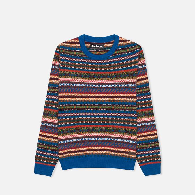 Детский свитер Barbour Coll Crew Neck Colbalt Blue