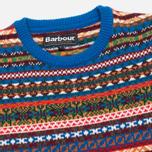 Детский свитер Barbour Coll Crew Neck Colbalt Blue фото- 1