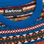 Детский свитер Barbour Coll Crew Neck Colbalt Blue фото- 5