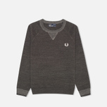 Детский свитер Fred Perry Budding Yarn Tipped Vintage Graphite Marl фото- 0