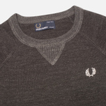 Детский свитер Fred Perry Budding Yarn Tipped Vintage Graphite Marl фото- 1
