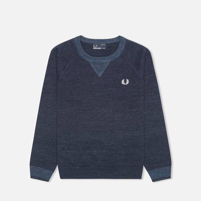 Детский свитер Fred Perry Budding Yarn Tipped Vintage Navy Marl