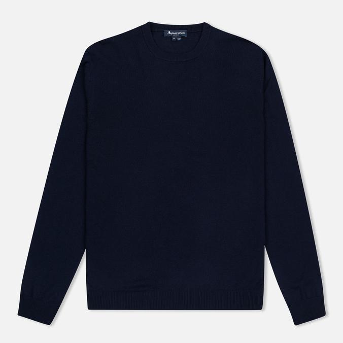 Мужской свитер Aquascutum Rolfe Crew Neck Navy