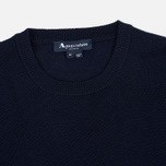 Aquascutum Rolfe Crew Neck Sweater Navy photo- 1