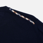Aquascutum Rolfe Crew Neck Sweater Navy photo- 3