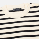 Мужской свитер Armor-Lux Fouesnant Striped Nature/Rich Navy фото- 1