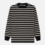 Мужской свитер Armor-Lux Fouesnant Striped Rich Navy/Nature фото- 0