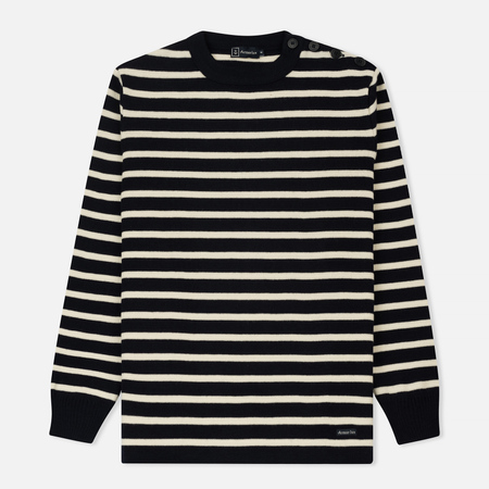 Мужской свитер Armor-Lux Fouesnant Striped Rich Navy/Nature