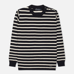 Мужской свитер Armor-Lux Butto Fouesnant Striped Rich Navy/Nature фото- 0
