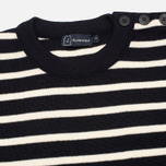 Мужской свитер Armor-Lux Fouesnant Striped Rich Navy/Nature фото- 1