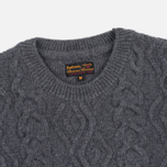 Мужской свитер Barbour Barnard Crew Neck Storm Grey фото- 1