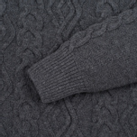 Мужской свитер Barbour Barnard Crew Neck Storm Grey фото- 2