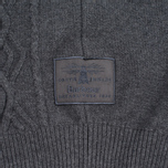 Мужской свитер Barbour Barnard Crew Neck Storm Grey фото- 3