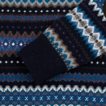 Мужской свитер Barbour Caistown Fair Isle Navy фото- 2