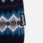 Мужской свитер Barbour Caistown Fair Isle Navy фото- 4