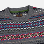 Мужской свитер Barbour Caistown Fair Isle Storm Grey фото- 1