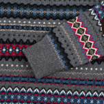 Мужской свитер Barbour Caistown Fair Isle Storm Grey фото- 2