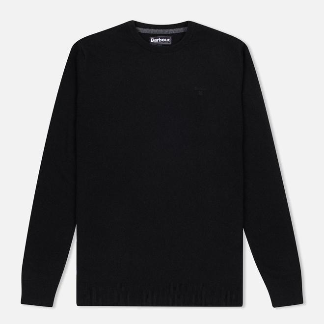 Мужской свитер Barbour Essential Lambswool Crew Neck Black