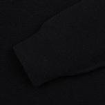 Мужской свитер Barbour Essential Lambswool Crew Neck Black фото- 3
