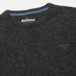 Мужской свитер Barbour Essential Lambswool Crew Charcoal фото- 1