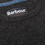 Мужской свитер Barbour Essential Lambswool Crew Charcoal фото- 2