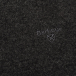 Мужской свитер Barbour Essential Lambswool Crew Charcoal фото- 3
