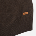 Мужской свитер Barbour Patch Half Zip Dark Brown фото- 5