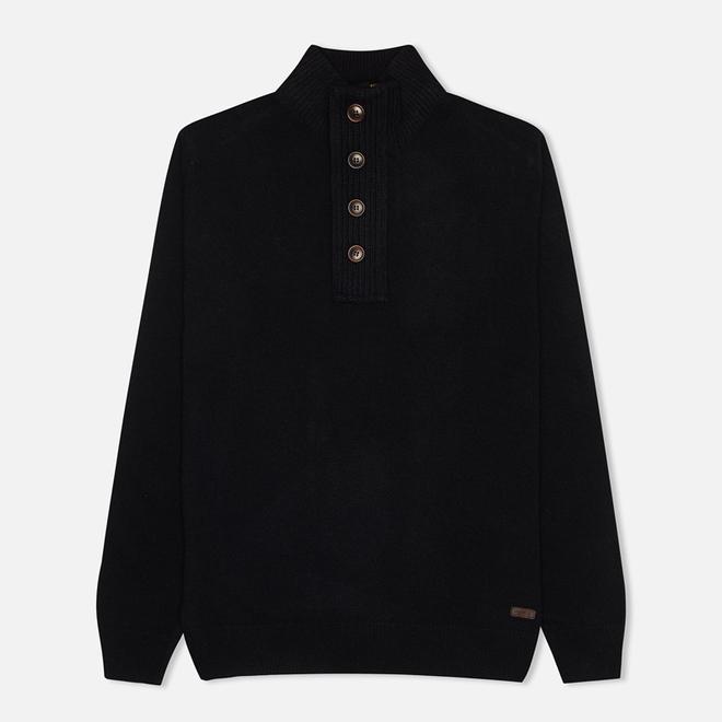 Мужской свитер Barbour Patch Half Zip Navy