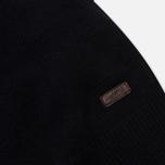 Мужской свитер Barbour Patch Half Zip Navy фото- 2