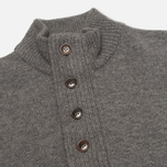 Мужской свитер Barbour Patch Half Zip Storm Grey фото- 1