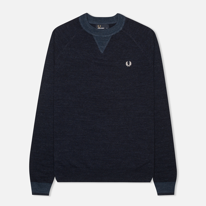 Мужской свитер Fred Perry Budding Yarn Tipped Vintage Navy Marl