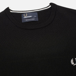 Мужской свитер Fred Perry Classic Crew Neck Black фото- 1