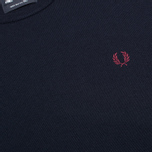 Fred Perry Classic Crew Neck Men's Sweater Dark Carbon photo- 2