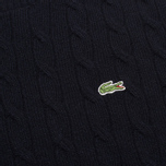 Lacoste Cable Knit Men's Sweater Midnight photo- 2