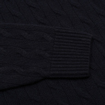 Мужской свитер Lacoste Cable Knit Jumper Midnight фото- 3