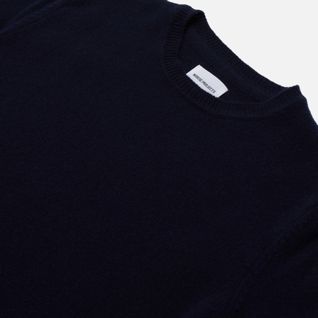 Мужской свитер Norse Projects Sigfred Lambswool Dark Navy