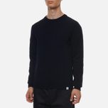 Мужской свитер Norse Projects Sigfred Lambswool Dark Navy фото- 1