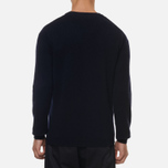Мужской свитер Norse Projects Sigfred Lambswool Dark Navy фото- 2