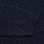 Мужской свитер Norse Projects Sigfred Lambswool Dark Navy фото- 3