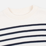 Мужской свитер Norse Projects Verner Ecru Stripe фото- 1