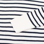 Norse Projects Verner Pure New Wool Men's Sweater Ecru Stripe photo- 2