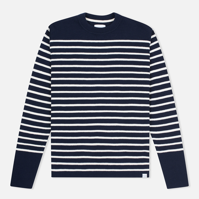 Мужской свитер Norse Projects Verner Navy Stripe