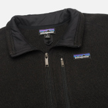 Мужской свитер Patagonia Better 1/4-Zip Fleece Black фото- 1
